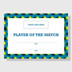 10 Pack - Player of the Match (Tennis) - Sporty Series