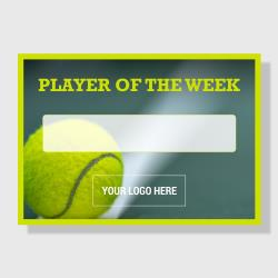 10 Pack - Player of the Week (Tennis) - Sporty Series