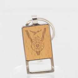 Keychain Bottle Opener Wood