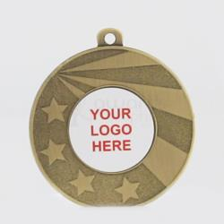 Personalised Economy Medal 50mm Gold