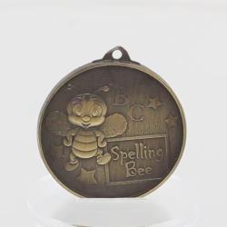 Spelling Bee Medal 52mm