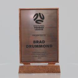 Billboard Xtra Resin Plaque Bronze 215mm