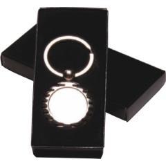 Boxed Silver Keyring