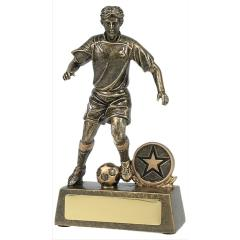 Male Soccer Player Gold 180mm
