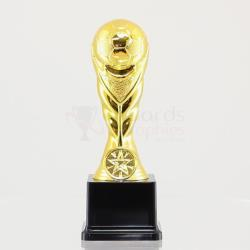 Gold Soccer Trophy 190mm