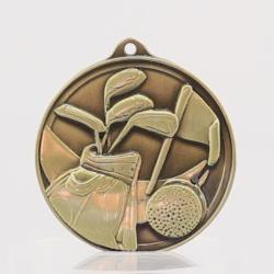 Embossed Golf Medal 50mm