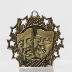 Ten Star Drama Medal 60mm 60mm