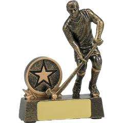 Male Hockey Figure Gold 110mm