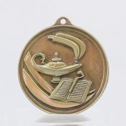 Embossed Education Medal 50mm