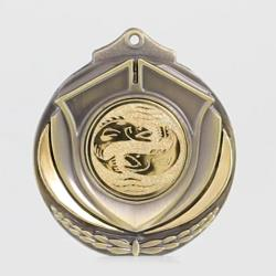 Two Tone Medal - Fishing