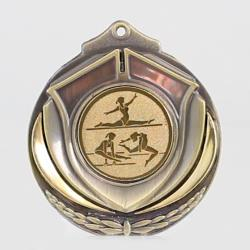 Two Tone Medal - Female Gymnastics