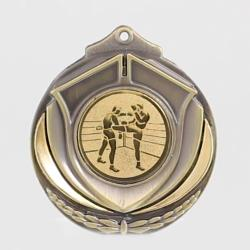 Two Tone Medal - Kick Boxing