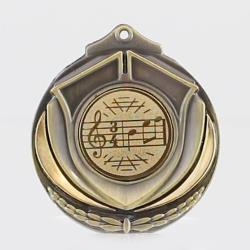 Two Tone Medal - Music