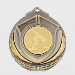 Two Tone Medal - Male Swimmer