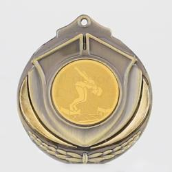 Two Tone Medal - Female Swimmer
