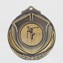 Two Tone Medal - Female Tenpin