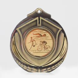 Two Tone Medal - Triathlon