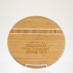 Bamboo Cutting Board - Round