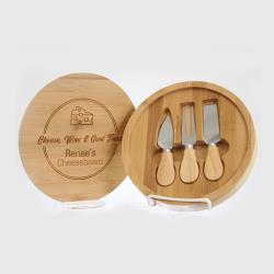 Bamboo Cheese Board - Round