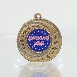 Wayfare Medal Awesome Job - Gold 50mm