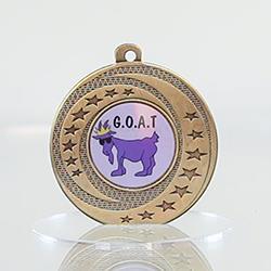 Wayfare Medal GOAT - Gold 50mm