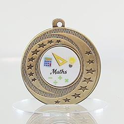 Wayfare Medal Maths - Gold 50mm