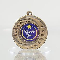 Wayfare Medal Thank You - Gold 50mm