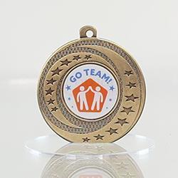Wayfare Medal Teamwork - Gold 50mm