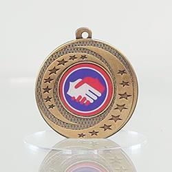 Wayfare Medal Handshake - Gold 50mm
