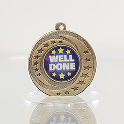 Wayfare Medal Well Done - Gold 50mm