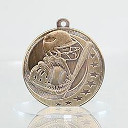 Baseball Wayfare Medal Gold 50mm