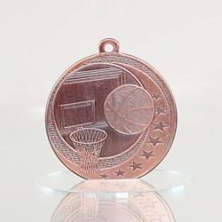 Basketball Wayfare Medal Bronze 50mm