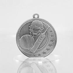 Cricket Wayfare Medal Silver 50mm
