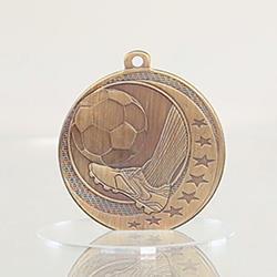 Soccer Wayfare Medal Gold 50mm