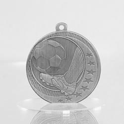 Soccer Wayfare Medal Silver 50mm