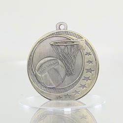 Netball Wayfare Medal Gold 50mm