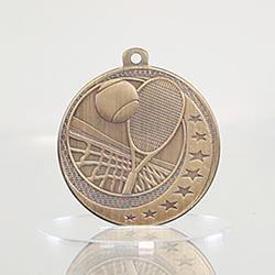 Tennis Wayfare Medal Gold 50mm