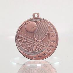 Tennis Wayfare Medal Bronze 50mm