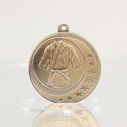 Martial Arts Wayfare Medal Gold 50mm