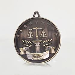 Scholarship Medal Citizenship Gold 62mm