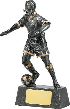 Female Soccer Action 230mm
