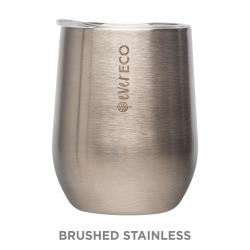 Ever Eco 354ml Insulated Tumbler - Brushed Stainless