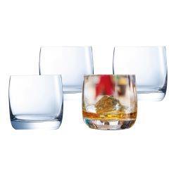 Set of 4 Whiskey Glasses 370ml
