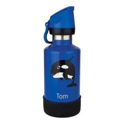 Cheeki Insulated Kids Bottle 400ml - Oska the Orca