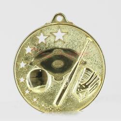 Star Baseball Medal 52mm