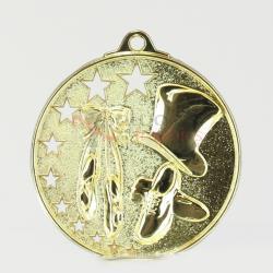 Star Dance Medal 52mm Gold