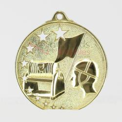 Star Life Saving Medal Gold 52mm Gold
