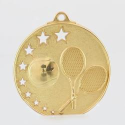 Star Tennis Medal 52mm Gold