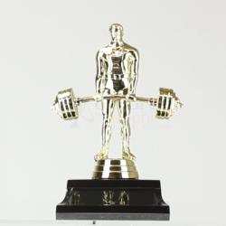 Weightlifting figurine on base 150mm