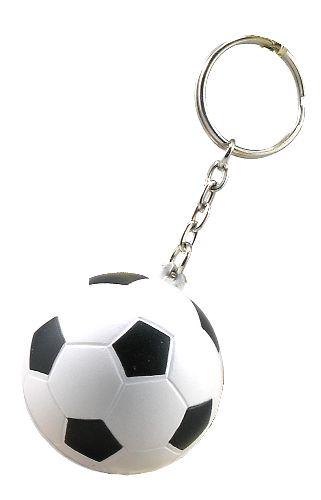 Spongy Soccer Keyring